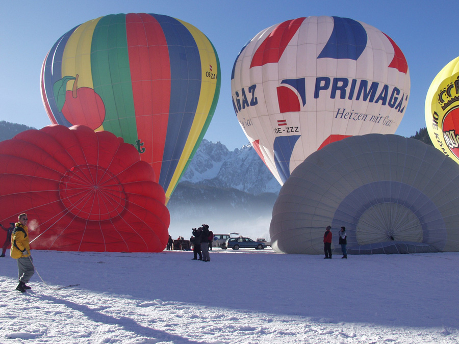 Hotel Sommerhof Week of the balloons in Gosau